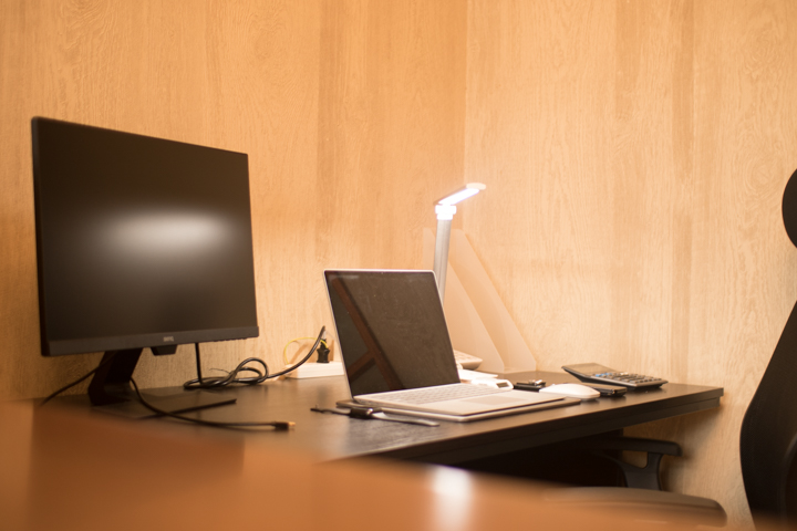 作業スペースの様子です。